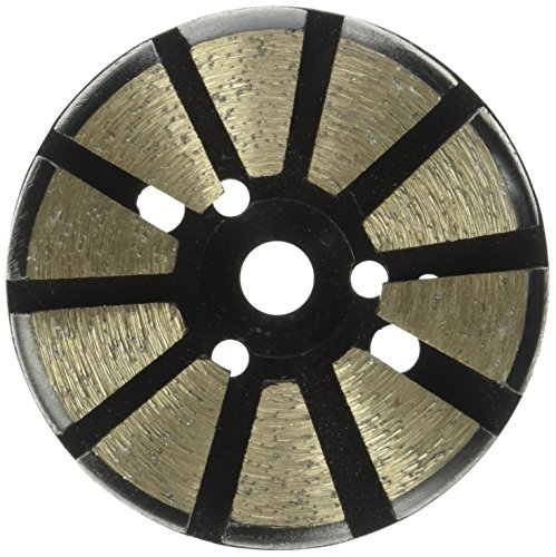Diamond Metal Grinding Bond Disc (Toolocity MFP3060 3-Inch 60 Grit Multi-Mach Metal Bond Diamond Floor Grinding Disc)