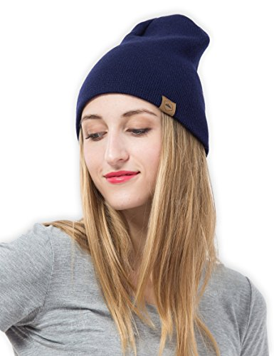 Daily Knit Beanie - Warm, Stretchy & Soft Beanie Hats for Men & Women - Year Round Comfort - Serious Beanies for Serious Style Beanie Snow