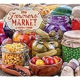 Farmer's Market 2018 Wall Calendar (16-month)