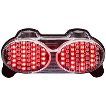 Amazon Com Integrated Sequential Led Tail Lights Clear