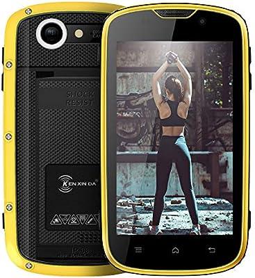 Telefono Movil IP68,E&L W5 Android 6.0 Smartphone Libre ...