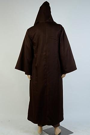 OBI WAN Kenobi Jedi Traje de Cosplay Disfraz Outfit Marrón ...