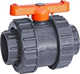 IrrigationKing RKBV3O Double Union PVC Ball Valve Slip/Weld, 3''