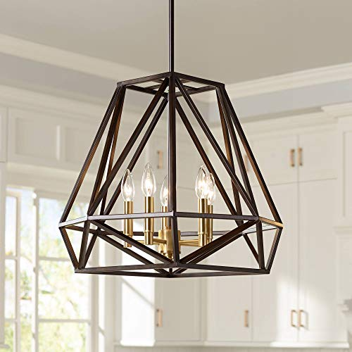 Hawking 5-Light 20 Wide Bronze Pendant Chandelier