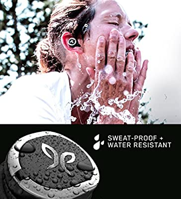 Jaybird RUN True Wireless Headphones for Running, 4+ Hours Play, Omni-directional Mic, Sweat-Resistant, Comfort-Fitted Earpieces, Skip-Free Music (JET)