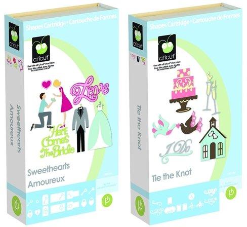 Cricut Cartridge bundle: Sweethearts & Tie the Knot