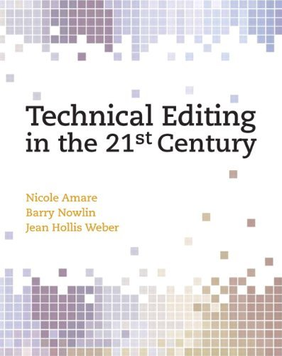 Download By Nicole Amare - Technical Editing in the 21st Century ebook
