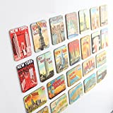New York souvenirs Refrigerator magnets set of 24