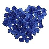1000pcs Royal Blue Artificial Silk Rose Flower Petals Wedding Bridal Party Decoration Table Scaters Confetti