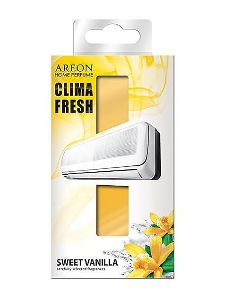 Areon Klima Fresh Süße Vanille Lufterfrischer Haus Klimaanlage Original  Parfum Geruch Gelb Haus Wohnzimmer Zimmer Büro