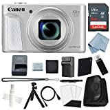 Canon Powershot SX730 HS Bundle (Silver) + Deluxe Accessory Kit – Including EVERYTHING You Need To Get Started For Sale
