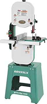 Grizzly G0555LX Deluxe Bandsaw - Premium