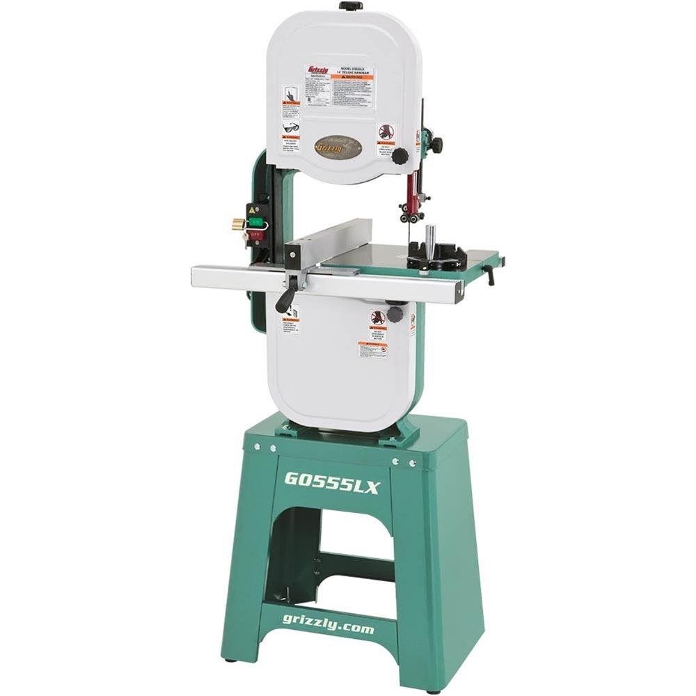Grizzly G0555LX Deluxe Bandsaw, 14'' by Grizzly