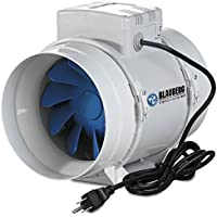 Blauberg Inline Mixed Flow Fan, 4-Inch