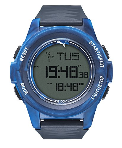 PUMA Camo Blue Digital Display Watch