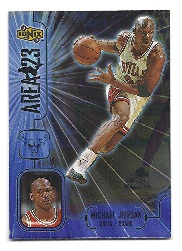 MICHAEL JORDAN 1998-99 Upper Deck Ionix Area 23 #A1 Card Chicago Bulls Basketball