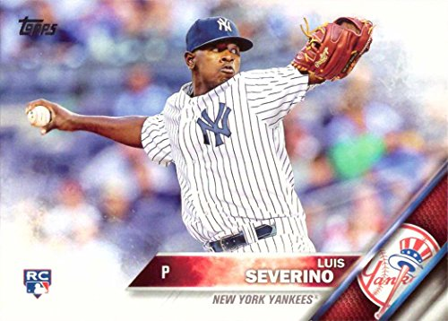 2016 Topps Baseball #265 Luis Severino Rookie Card