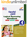 Olympiad Champs Logical Reasoning Workbook Class 4 with 5 Mock Online Olympiad Tests