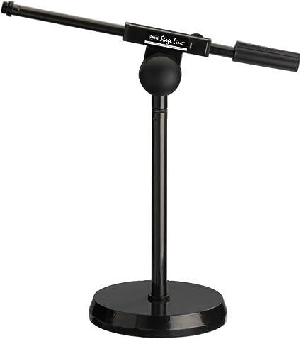IMG Stage Line MS-100 - Pie de micrófono para suelo o mesa: Amazon ...