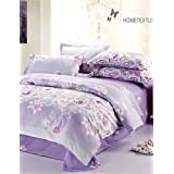 BENBU Modern bedding Duvet Cover Fashion Comfortable Twin/Full/Queen Size , full-light purple , full-light purple