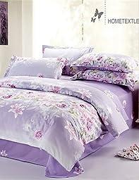 IXTT Yuxin? Duvet Cover Fashion Comfortable Twin/Full/Queen Size , full-light purple , full-light purple