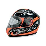 AFX FX-90 W-Dare Helmet , Size: XS, Distinct Name: Safety Orange W-Dare, Helmet Type: Full-face Helmets, Helmet Category: Street, Primary Color: Orange, Gender: Mens/Unisex 0101-5802