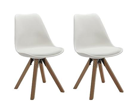 Sedie Bianche E Legno : Lotto di sedie carine legno hevea massello e mdf colori