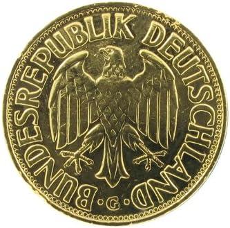 Jahrgangsm/ünze mit Ihrer pers/önlichen Gravur auf dem Rahmen Historia 1 DM-M/ünze 1992 vergoldet