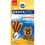 Pedigree Dentastix Original Toy/Small Treats For Dogs - 6 Ounces 24 Treats (Pack Of 7)