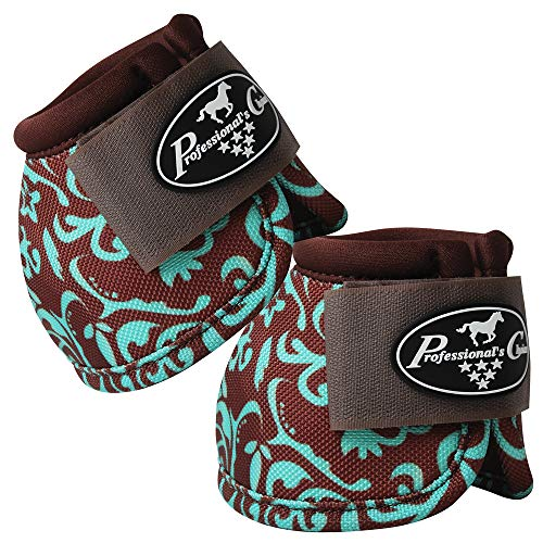 Professional Choice 6 Pack Medium Horse Sports Front HIND Bell Boots by Professional Choice (Image #5)