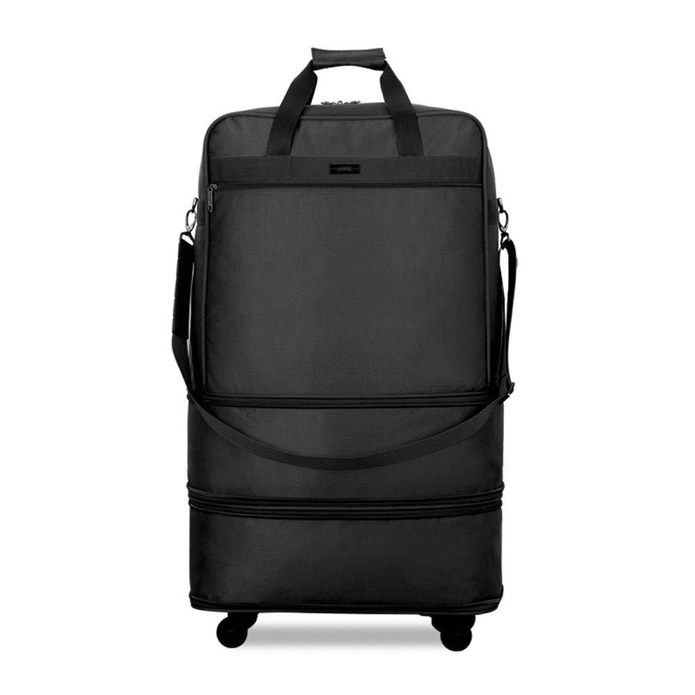 Large Capacity Moving Travel MS MING REN Luggage Sets Trolley Case Foldable Trolley-Free Air Universal Cog Carrier Bag Multi-Function Luggage Polyester