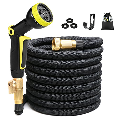 50ft Expandable Garden Hose, Expanding Water Hose...