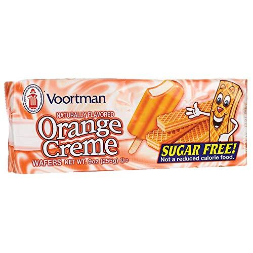 Orange Creme Wafers - Sugar Free 9 Ounce (255 g) Pkg ()
