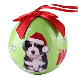 CueCue Pet ORNDOG101 Animal Collection Christmas Ball Ornament Décor