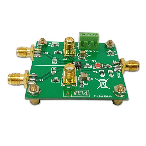 (Taidacent AD834 quadrant multiplier module signal conditioning power control doubler frequency multiplier 500MHz)