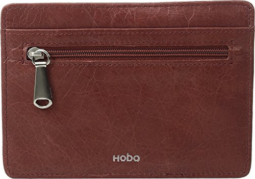 hobo-womens-leather-vintage-euro-slide-card-holder-wallet-mahogany