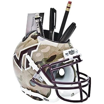 Amazon Virginia Tech Hokies Ncaa Schutt Mini Football Helmet