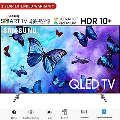 """Samsung QN82Q6FNA 82"""" Q6FN QLED Smart 4K UHD TV (2018 Model) - (Certified Refurbished)"""