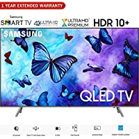 Samsung QN75Q6FNA 75 Q6FN QLED Smart 4K UHD TV (2018 Model) - (Certified Refurbished) with 1 Year Extended Warranty