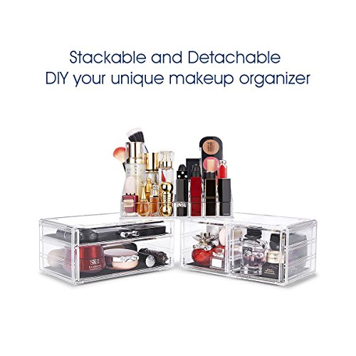 The 8 best acrylic drawers organizers for cosmetics