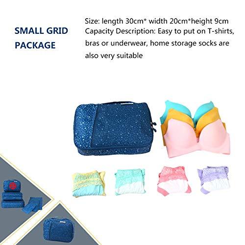 Aolvo bolsas Viaje Embalaje Organizador Organizadoras Impermeables Xl Organizador Equipaje Cubos De 7raxtqwrX