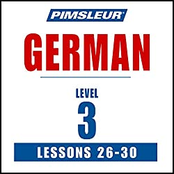 German Level 3 Lessons 26-30
