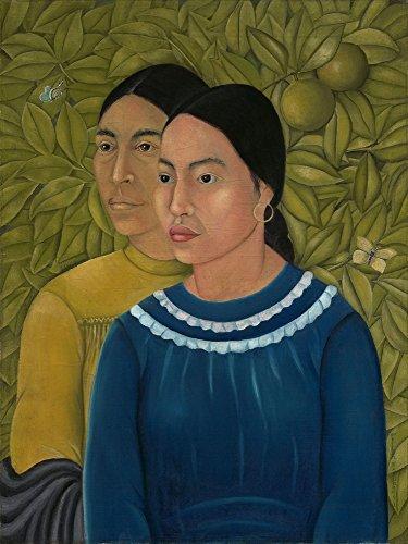 Kahlo de Rivera Portrait of Doña Rosita Morillo Giclee Canvas Print Poster