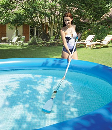 Kokido Lektra Vac Battery Powered Swimming Pool Cordless Vacuum Broom Cleaner by Kokido