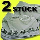 Hillfield - Lote de 2 fundas para bicicletas
