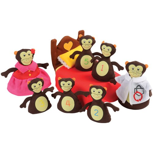 Monkeys Jumping on the Bed Props for all age kids -