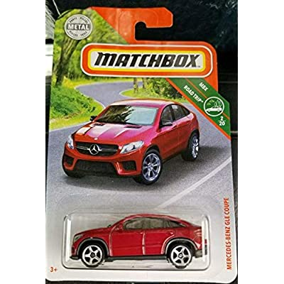 Matchbox 2020 Mercedes Benz GLE Coupe RED: Toys & Games