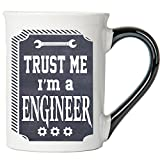 trust me im engineer - Trust Me I'm A Engineer Mug, Large Engineer 18 Ounce Coffee Cup; Engineer Gift By Tumbleweed