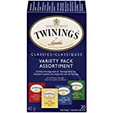 Twinings Variety Pack Carton, 20 Count