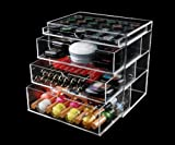 Product review for Home Decoration High Quality Handmade Fashionable 4 Drawer Clear Acrylic Makeup Organizer & Cosmestic Organizer